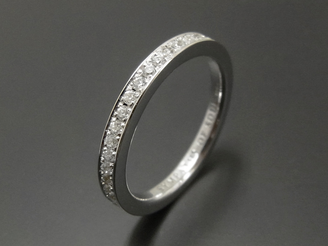 Eternity Ring - Silver w/CZ