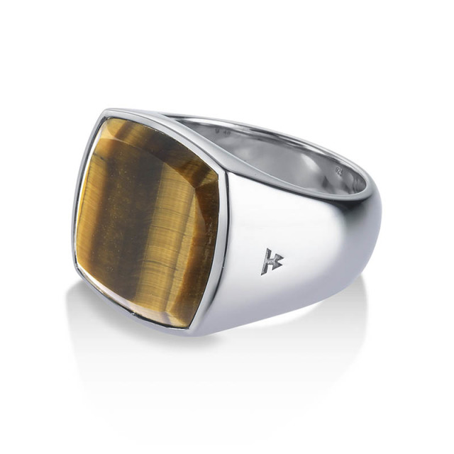 TOMWOOD Cushion Tiger Eye Ring