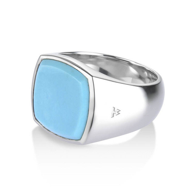 TOMWOOD Cushion Turquoise Ring