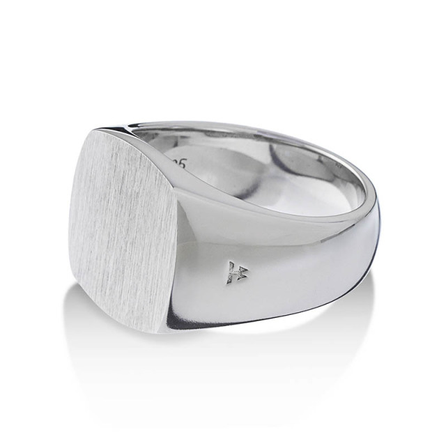 TOMWOOD Cushion Satin Ring