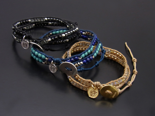 CHAN LUU×SYMPATHY OF SOUL Narrow Beads Bracelet