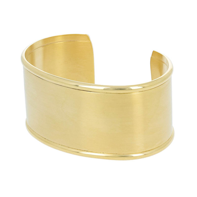 HM Bangle - Gold Plated