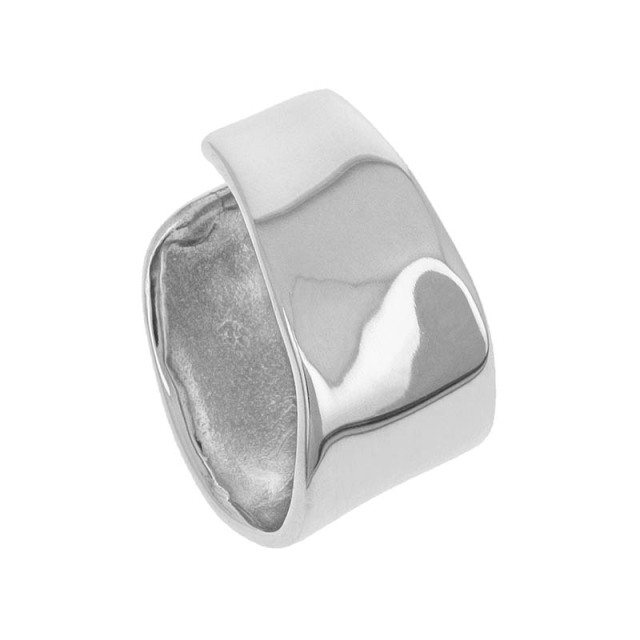 Melt Ear Cuff - Silver