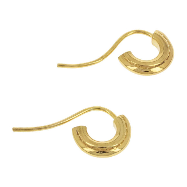Stitch Hoop Pierce - Gold Plated