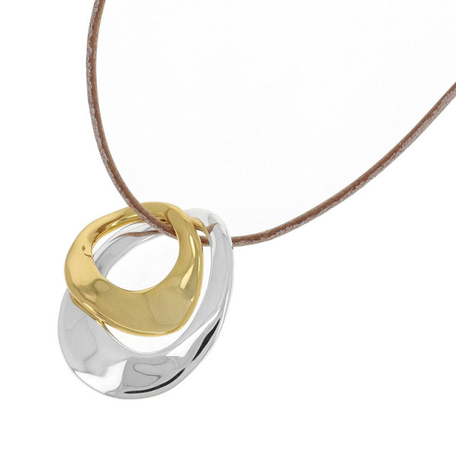 Melt Combination Necklace - Tan