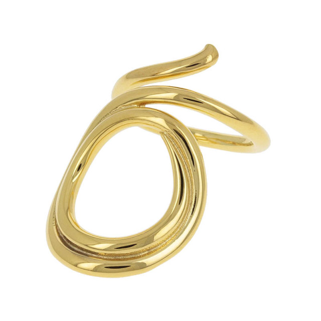 Ripple Ring - Gold Plated