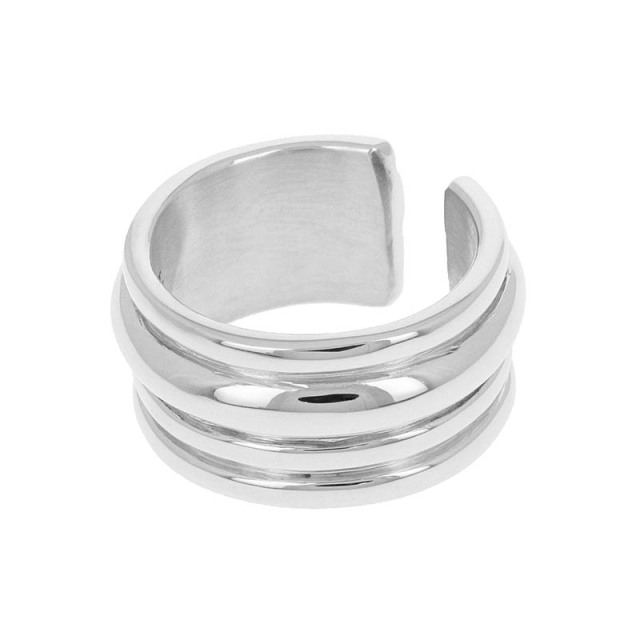 Tube Ring - Silver