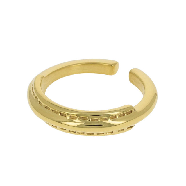 Stitch Ring - Gold Plated