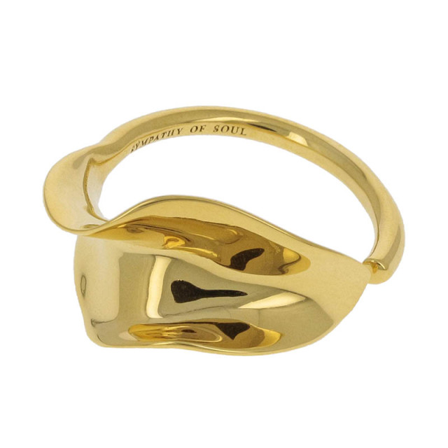 Flutter Ring - Gold Plated
