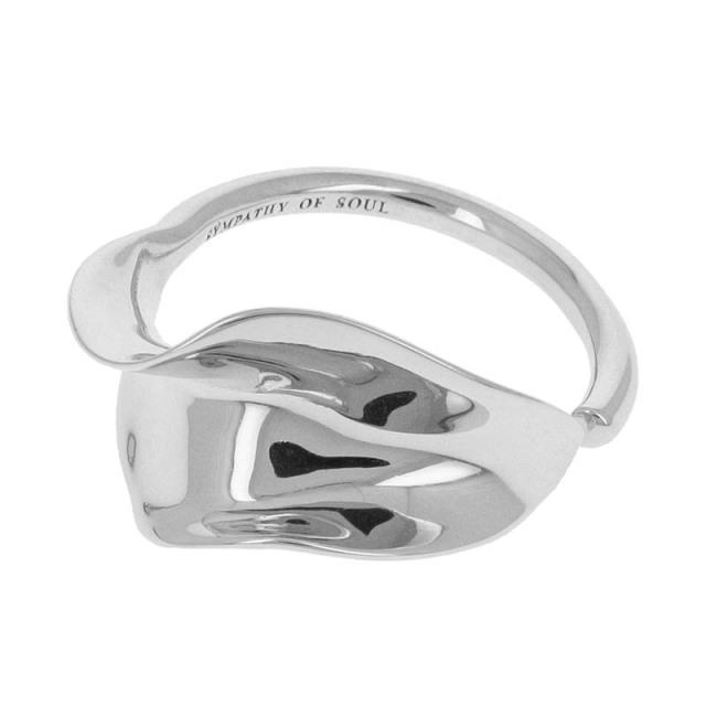 Flutter Ring - Silver