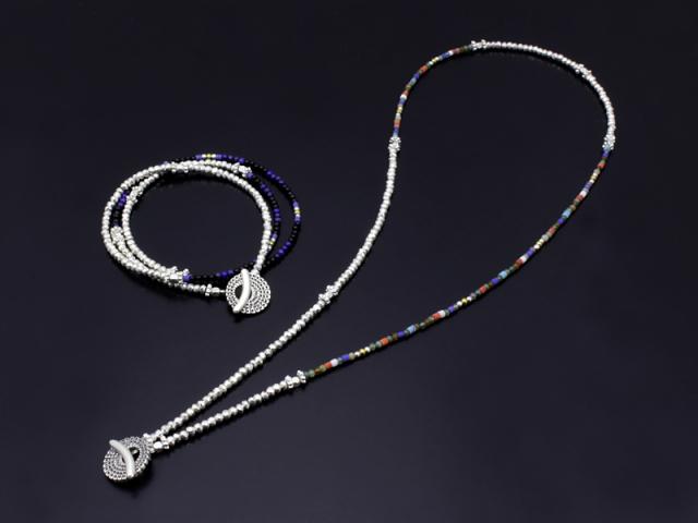 Smbati×SYMPATHY OF SOUL 2way Necklace & Bracelet 2015AW