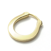 Horseshoe Hoop Pierce - K18Yellow Gold
