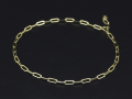 Plain Chain Anklet