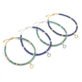 Ball Beads Anklet w/Horseshoe