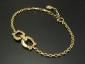 Horseshoe Chain Bracelet - K18Yellow Gold