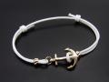 Anchor Code Bracelet & Anklet - K10YG