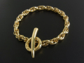 Nexus Chain Bracelet - K18Yellow Gold