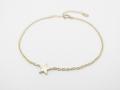 Little Shine Star Bracelet - K10 Yellow Gold