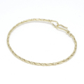 Twist Wire Bangle - K18Yellow Gold