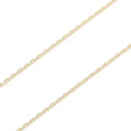 K10Gold 0.42 Square Chain