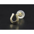Horseshoe Pierce - K10 Yellow Gold