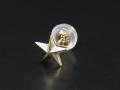Star Pierce - K10Yellow Gold