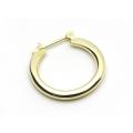 Plain Hoop Pierce - K18Yellow Gold