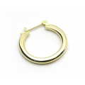 Plain Hoop Pierce - K18Yellow Gold