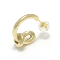 Knot Pierce - K18Yellow Gold