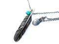 HARIM Feather Center S Necklace