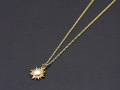Sun Necklace - K10YG
