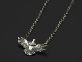 Eagle Necklace - Silver