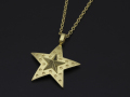 Marbles×SYMPATHY OF SOUL Collaboration Star Necklace - K18Yellow Gold