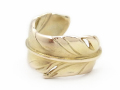 Old Feather Toe Ring - K10 Yellow Gold
