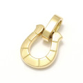 Horseshoe Amulet - K18Yellow Gold