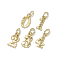 Number Pendant - K18Yellow Gold