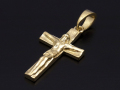 Large Divine Cross Pendant - K18Yellow Gold