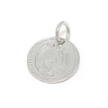 Ever Fortune Coin Charm - Silver