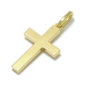 Simple Cross Pendant - Medium