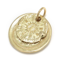B.C. Coin Pendant / Hope Sun - K18Yellow Gold