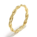Woven Ring - L K18Yellow Gold