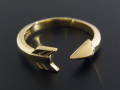 Arrow Ring - K18 Yellow Gold