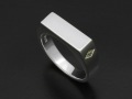 Signet Ring - Rectangle - Silver