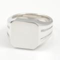 Large Signet Ring - Silver