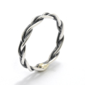 Woven Ring - Silver