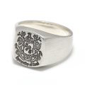 Signature Ring - Silver