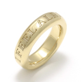 Heavy Weight Ring - I FEEL ALRIGHT - K18Yellow Gold