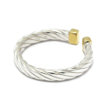 Seven Wires Twist Ring