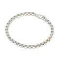 S.O.S fp恵比寿本店、WEB限定 S.O.S fp恵比寿本店15周年限定 Silver Venetian Chain Bracelet w/1pcs 18K