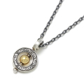 2018 Christmas Model Eternal Carving Bramanda Necklace SV/18K